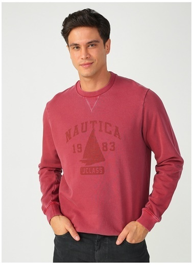 Nautica Sweatshirt Bordo